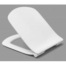 Сиденье для унитаза Dama Senso тонкое, дюропласт, с микролифтом, быстросъемное