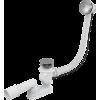 Слив-перелив для ванны 57 см, металл/хром, полуавтомат, Alcaplast