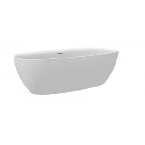 Ванна из материала Stonex Ariane 165х75 см, овальная