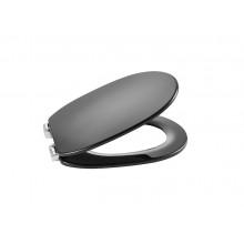 Сиденье для унитаза Carmen dark grey, supralit, с микролифтом