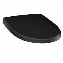 Сиденье для унитаза Victoria Nord black edition, дюропласт, с микролифтом, быстросъемное