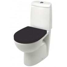 Сиденье для унитаза Victoria Nord черное, дюропласт, с микролифтом