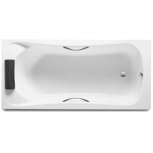 Акриловая ванна Becool 170х80 см, с отверстиями под ручки