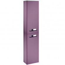 Шкаф-колонна Gap 34х20х160 см, фиолетовый матовый, левый, подвесной монтаж