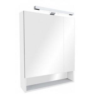 Gap зеркало-шкаф 70 см, белый, пленка