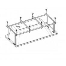 Монтажный комплект для ванны Becool 180х80, ручки, каркас, комплект креплений к стене, к фронтальной панели, слив-перелив