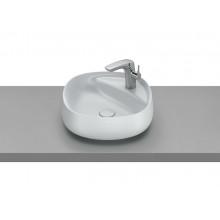 Накладная раковина Beyond 45,5х45,5х16 см, soft square, цвет жемчуг, fineceramic, с отв. под смеситель