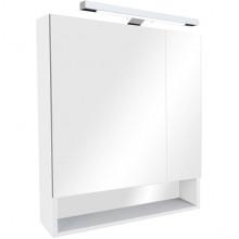 Gap зеркало-шкаф 80 см, белый, пленка